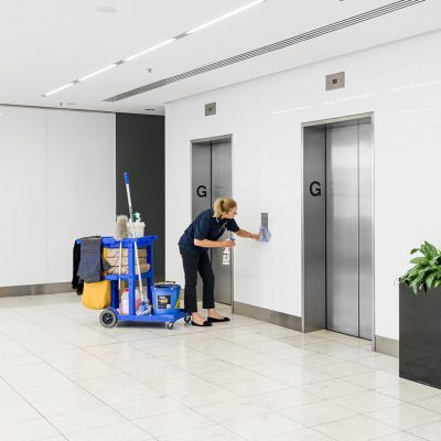 Proven record in cleaning management